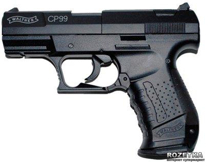 Пневматичний пістолет Umarex Walther Mod.CP99 (412.00.00) Black