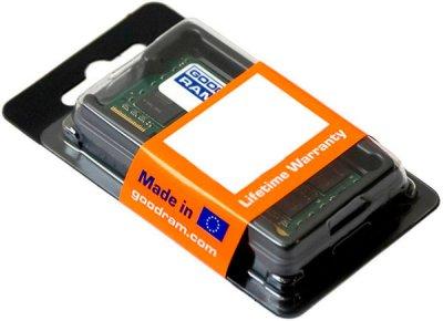 Оперативна пам'ять Goodram SODIMM DDR3-1600 4096MB PC3-12800 (GR1600S364L11/4G)