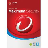 Антивирус Trend Micro Maximum Security 2019 3ПК, 12 month(s), Multi Lang, Lic, New (TI10974263)