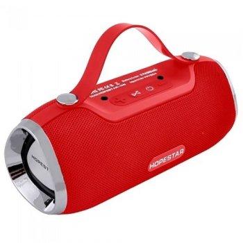 Портативная bluetooth колонка спикер Hopestar H40 Красный