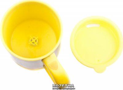Чашка-мешалка с вентилятором UFT Fancup Желтая