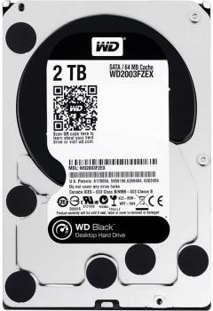 Жорсткий диск Western Digital Black 2TB 7200rpm 64MB WD2003FZEX 3.5 SATA III