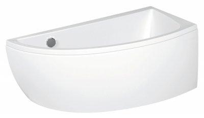 Ванна акриловая CERSANIT NANO 150 правосторонняя + ножки PW01/S906-0016/S906-008
