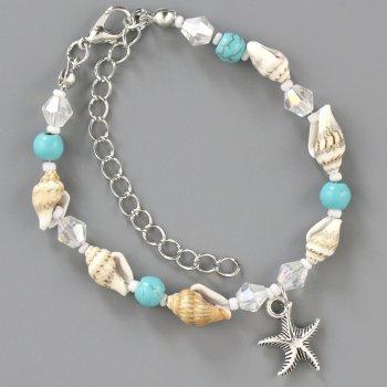Браслет Traum 4228-84 Бело-голубой (4820004228844)