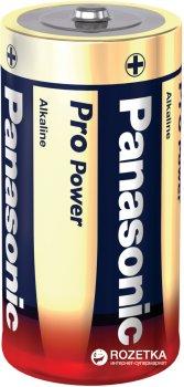 Батарейки Panasonic Pro Power щелочные C (LR14) блистер, 2 шт (LR14XEG/2BP)