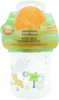 Бутылочка для кормления с широким горлом Baby Team 150 мл (1003)