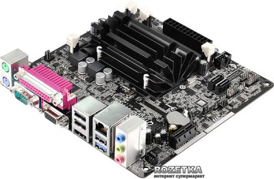 Материнська плата ASRock Q1900B-ITX (Intel Quad-Core J1900, SoC, PCI-Ex1)
