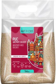 Рис Art Foods Басмати Golden пропаренный 1121 5 кг (4820191592636)