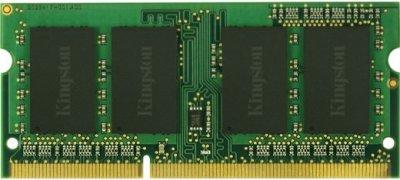 Оперативна пам'ять Kingston SODIMM DDR3-1333 4096MB PC3-10600 (KVR13S9S8/4)