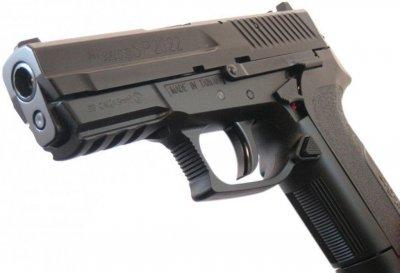 Пистолет пневматический KWC KM47 (Sig Sauer Pro 2022) черный