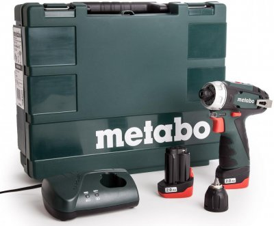 Аккумуляторная дрель-шуруповерт Metabo PowerMaxx BS Basic (600080500)