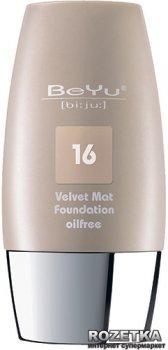 Тональный крем с матирующим эффектом BeYu Velvet Mat Foundation 30 мл 16 Porcelain Creme (4033651385161)
