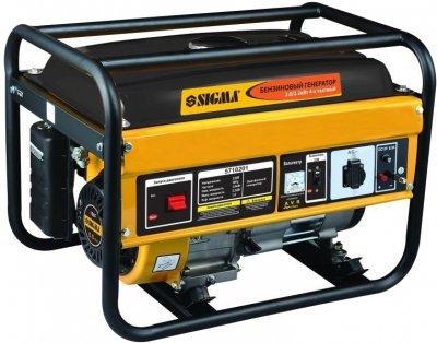 Генератор бензиновый Sigma 2.2 кВт ручной запуск (5710201)