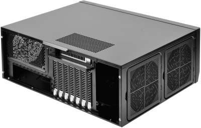 Корпус SilverStone Grandia GD09 Black (SST-GD09B)