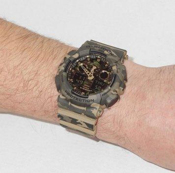 Чоловічий годинник CASIO GA-100CM-5AER