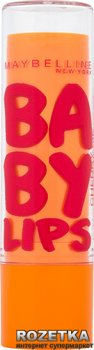 Защищающий бальзам для губ Maybelline New York Baby Lips Вишневый соблазн 4.4 г (3600531053840)