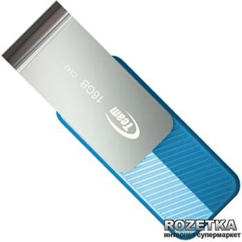 Флеш пам'ять USB Team C142 16GB Blue (TC14216GL01)
