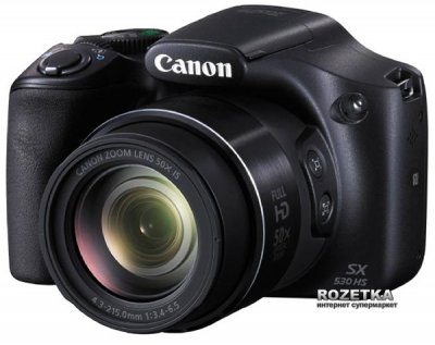 Фотоапарат Canon Powershot SX530HS Black (9779B012)