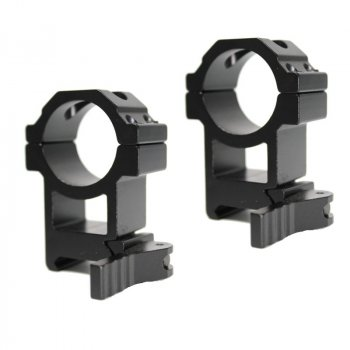 Кріплення Air Precision Quick release Rifle scope High Profile Picatinny Mount Ring set (1784.00.48)