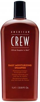 Увлажняющий шампунь American Crew Daily Moisturizing Shampoo для ежедневного применения 1000 мл (669316068953)