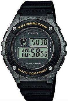 Чоловічий годинник CASIO W-216H-1BVEF