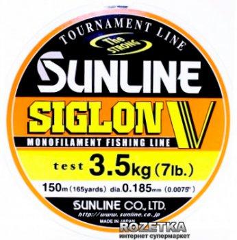 Леска Sunline Siglon V 150 м #1.2/0.185 мм 3.5 кг (16580504)