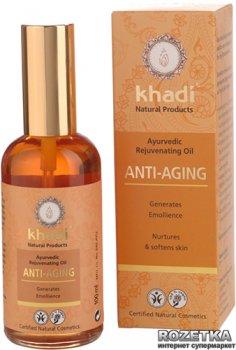 Аюрведичне масло Khadi Антивікове для обличчя та тіла 100 мл (4260378040459)