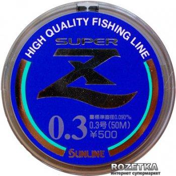Леска Sunline Super Z HG 50 м #0.3/0.09 мм 0.72 кг (16580037)
