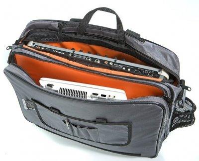 Сумка UDG Ultimate CourierBag DeLuxe Steel Grey/Orange