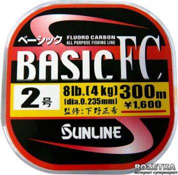 Леска Sunline Basic FC 300 м #2/0.235 мм 4 кг (16580096)