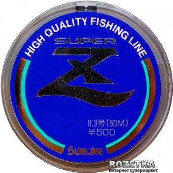 Леска Sunline Super Z HG 50 м #0.8/0.148 мм 1.89 кг (16580041)