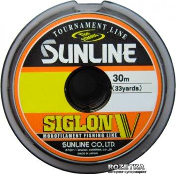 Леска Sunline Siglon V 30 м #1.2/0.185 мм 3.5 кг (16580491)