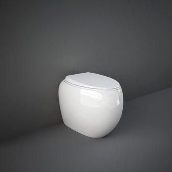 Унитаз напольный RAK Ceramics CLOUD CLOWC1346AWHA без ободка, белый