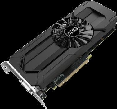 Відеокарта PALIT GeForce GTX1060 StormX 6GB GDDR5 (NE51060015J9F)
