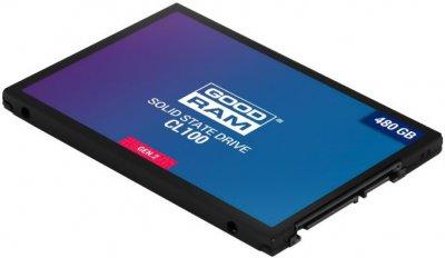 """Накопичувач SSD 2.5"""" 480GB GOODRAM (SSDPR-CL100-480-G2)"""