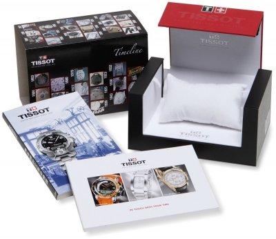 Мужские часы Tissot Серебристые (1011-T055.427.11.057.00)