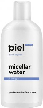Мицеллярна вода для зняття макіяжу Piel Youth Defence Eau Micellaire Demaquillant Face and Eye Makeup Remover 200 мл (4820187880259)
