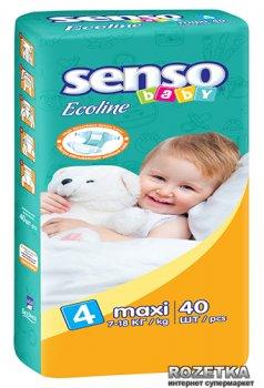 Підгузники Senso Baby Ecoline Maxi 4 (7-18 кг) 40 шт (4810703000865)