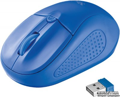 Мышь Trust Primo Wireless Blue (TR20786)