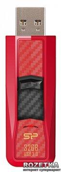 Флеш пам'ять USB Silicon Power Blaze B50 32GB Red (SP032GBUF3B50V1R)