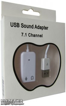 Адаптер Dynamode C-Media 108 (7.1) USB-SOUND7 White