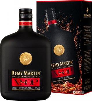 Коньяк Remy Martin VSOP 0.5 л 40% в подарочной упаковке (3024482150128)