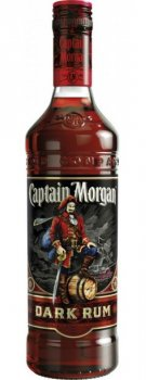 Ром Captain Morgan Dark Rum 0.5 л 40% (87000651289)