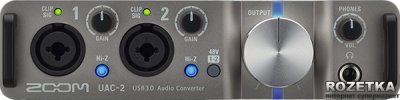 Аудіоінтерфейс Zoom UAC-2 (282 595)