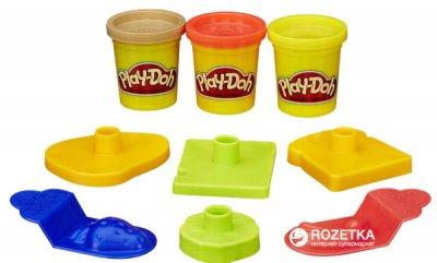 Набор пластилина Hasbro Play-Doh Мини ведерко Пикник (23414_23412)