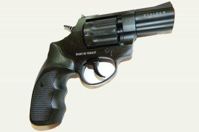 """Револьвер під патрон Флобера Stalker 2.5 """"Syntetic"""" (силуміновий барабан)"""
