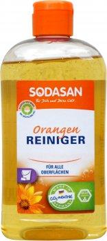 Органічний універсальний миючий концентрат-антіжир Sodasan Orange 0.5 л (4019886001403)