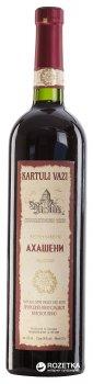 Вино Kartuli Vazi Ахашені червоне напівсолодке 0.75 л 11% (4860001680337)