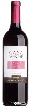 Вино Casa Verde Cabernet Sauvignon/Merlot красное полусладкое 0.75 л 12% (7808765712533)