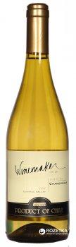 Вино Winemaker Chardonnay белое сухое 0.75 л 13% (7808765712762)